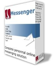 Omega Messenger connects with MSN,  Yahoo, AIM and ICQ instant messengers